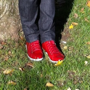 Caroline metais - chaussure rouge